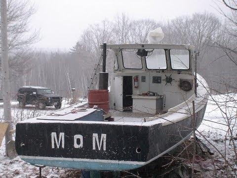 Lobster Boat, 1968 Novi, Detroit Deisel - YouTube