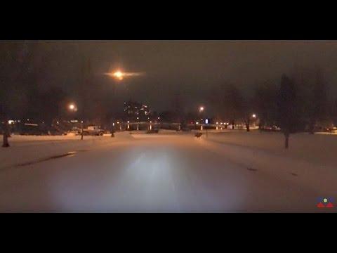 Denver's Washington park 2 days after a snow