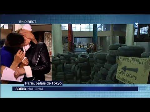 Une journaliste embrassée en plein direct sur France 3