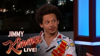 "Eric André Says ""Man Seeking Woman"" is Like a Rom-Com on Peyote"