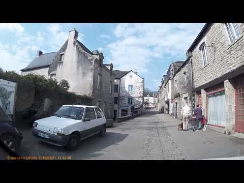 Driving In France - Rochefort En Terre