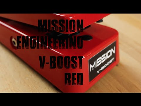 Mission Engineering V-Boost Red