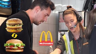 Swapping a Mcdonalds Meal with Burger King then Returning it