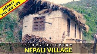 Village Life of Nepal   नेपाली पहाडका सुन्दर दृष्यहरू   IamSuman