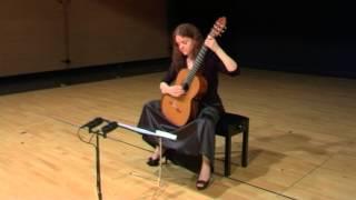 """""""MISTY"""" (Erroll Garner) - MARISA GÓMEZ, guitar"""