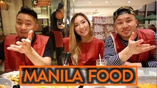 FOOD IN MANILA, PHILIPPINES! - Fung Bros Food