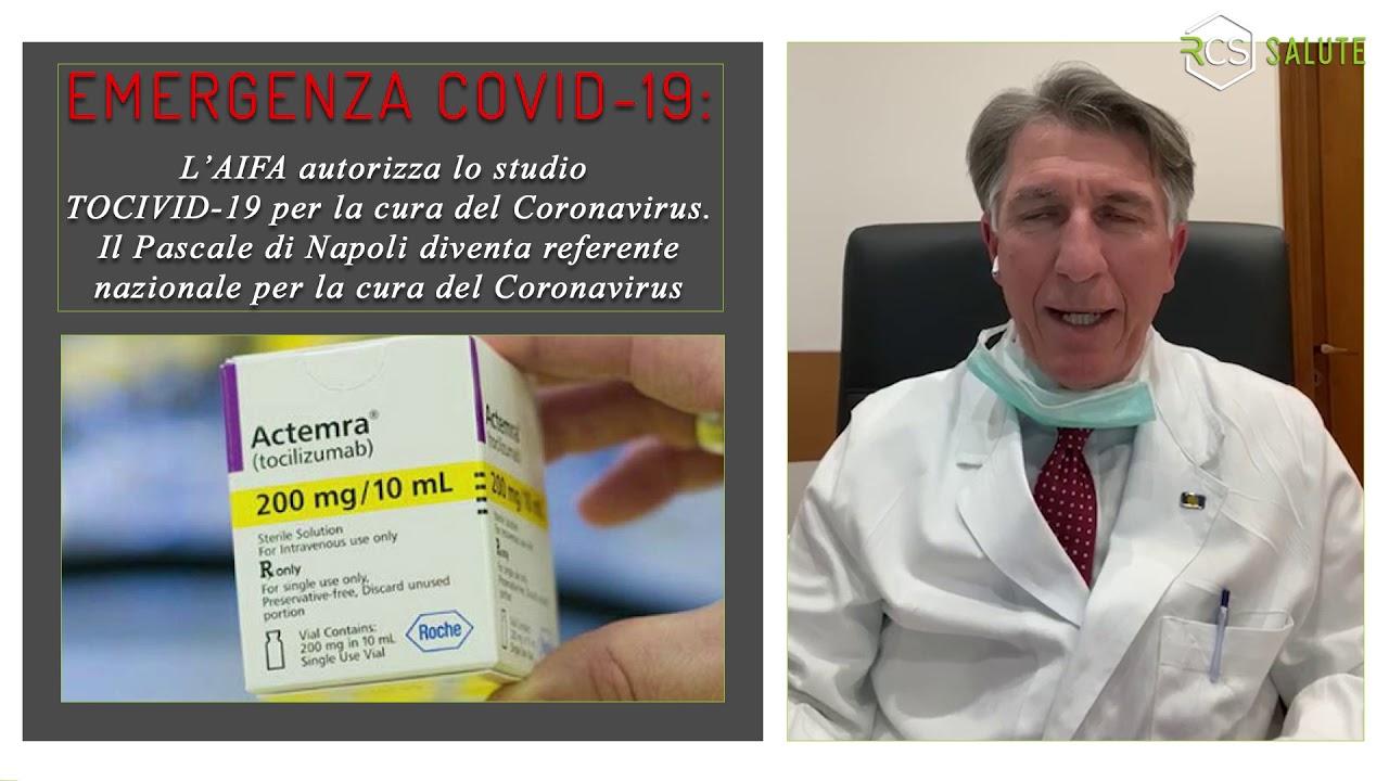 """Video Intervista Dr Leonardo Miscio direttore sanitario IRCCS """"Fondazione G. Pascale""""."""