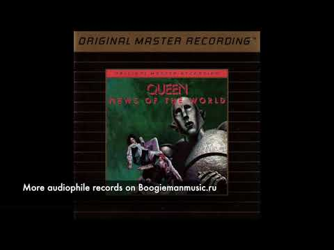 Queen ‎– News Of The World - Mobile Fidelity Sound Lab ‎– UDCD 588