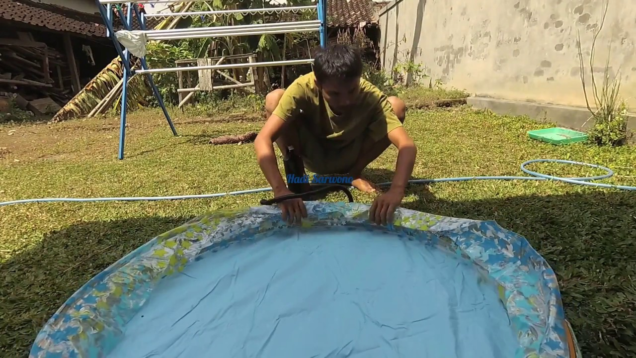Memompa Kolam Renang Portable Pumping Swimming Pool Portable