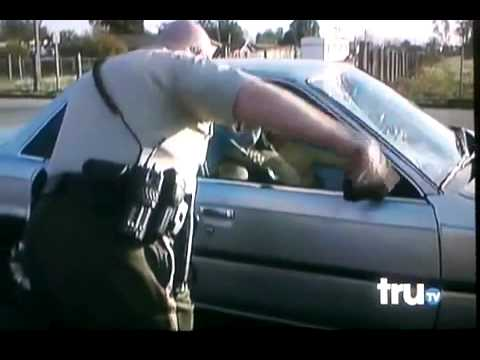 Guy Gets Hit By Car On Cops