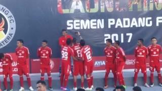 Launching Pemain Semen Padang 2017