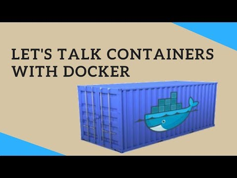 Let's talk Containers with Docker | Tech Primers