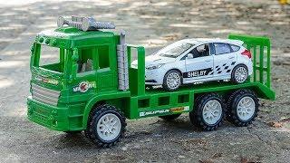 Dump trucks, racing cars, forklifts, terrain vehicles - B1064A Toys ...