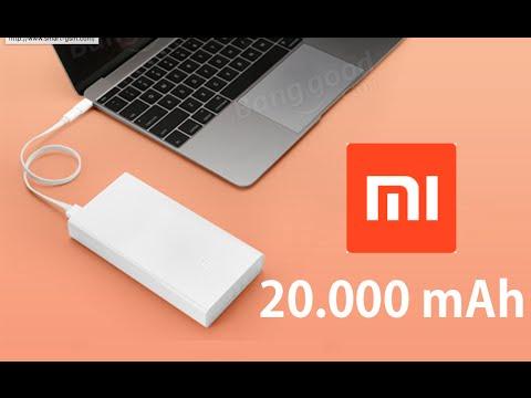 Power Bank Xiaomi 20.000 MAh Con Carga Rápida,review En Español