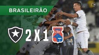 BOTAFOGO 2 X 1 PARANÁ CLUBE - GOLS - 26/11 - BRASILEIRÃO 2018