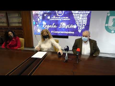 Rueda de prensa balance campaña comercial Navidad del Cabildo de La Palma