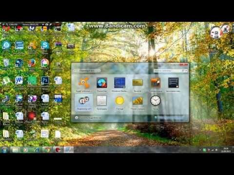 Как включить гаджеты в windows 7