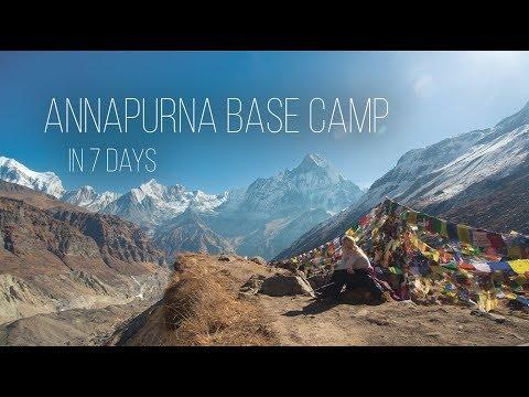 Annapurna Base Camp - 7 Days in December 2017