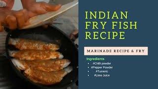 Indian Fry Fish Recipe Marinade