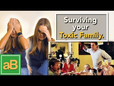 How to Survive Your Toxic Family over the Holidays