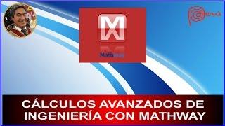 Cálculos avanzados de ingeniería con MathWay en tu Celular (DERIVADAS E INTEGRALES)