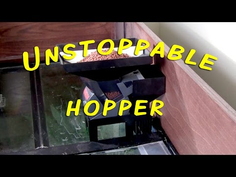 Unstoppable Hopper - Expanded Automatic Aquarium Feeder