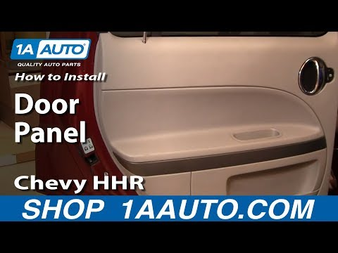 How To Remove Rear Door Panel  06-10 Chevy HHR