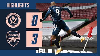 HIGHLIGHTS | Sheffield United vs Arsenal (0-3) | Premier League | Lacazette, Martinelli