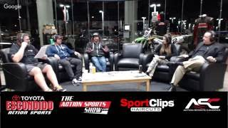 The Action Sports Show with Miss SX Juliana Daniell