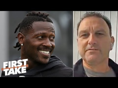 Antonio Brown's agent says AB didn't force his way off the Raiders to join the Patriots   First Take