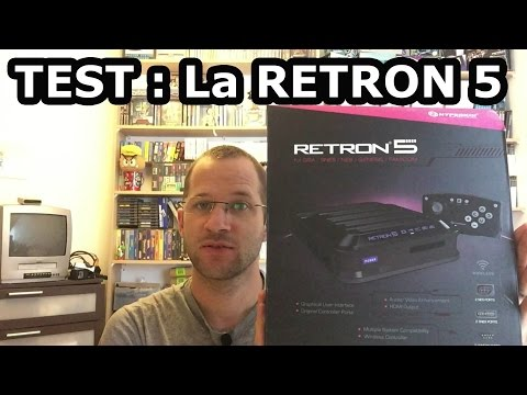 Test franais retron 5 : La console retrogaming multi supports !