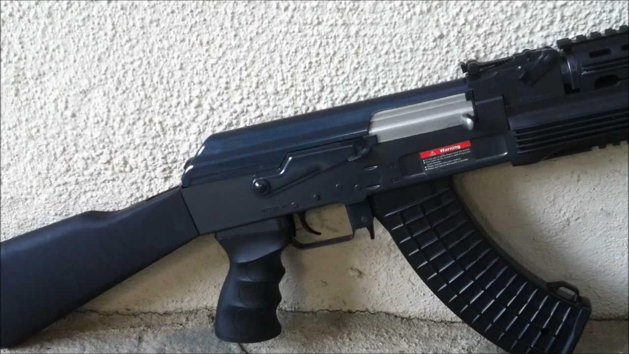JG Tactical RIS AK47 Review & Shooting Test & Update (Airsoft AEG)