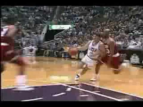 Clyde Drexler Houston Rockets 1995