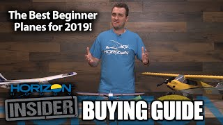 Horizon Insider Buying Guide: Best Beginner Planes for 2019!