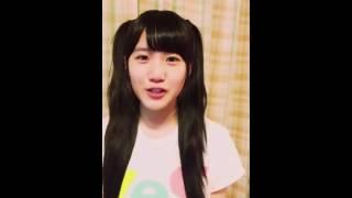 2016年5月31日(火) 高橋菜々美さん 公式Twitterより抜粋。
