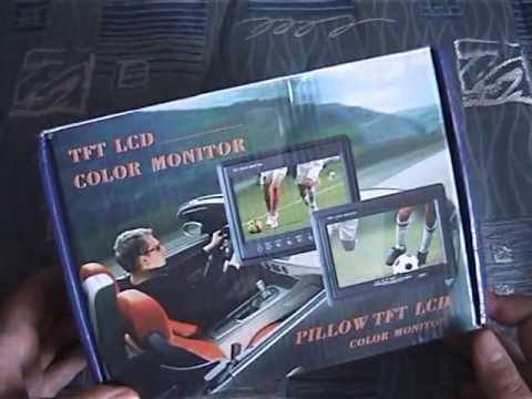 Автомобильный монитор 7 дюймов