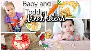 WHAT MY BABY AND TODDLER EAT IN A DAY!