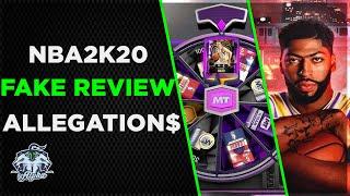 NBA 2K20 Gambling Simulator accused of Review Manipulation