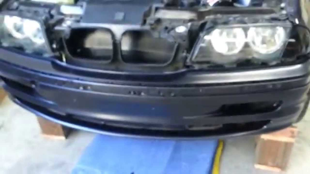 How To Remove A Bumper On A Bmw E46 3series Youtube