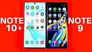 Galaxy Note 10 Plus vs Galaxy Note 9 Speed Test!