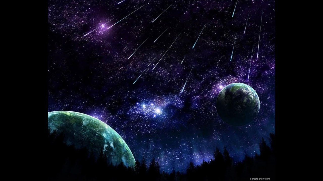 Orionids Meteor Shower Live Youtube