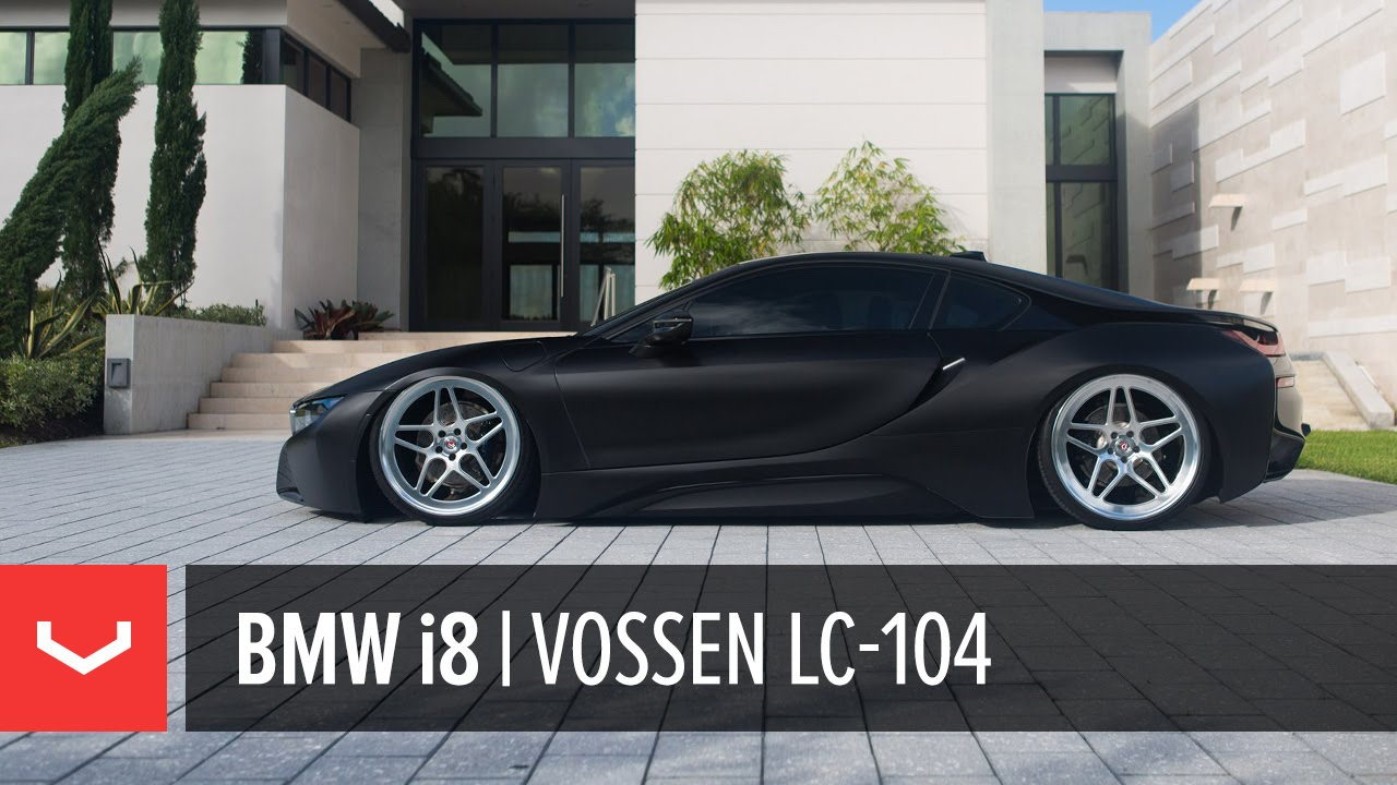 Bmw I8 Bagged I8pizza Vossen Forged Lc 104 Youtube