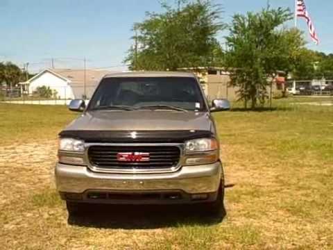 Used car dealer Gainesville.Ocala. Fl 02 GMC SIERRA 1500 EXT 4X4 CALL FRANCIS(352)-745-2019