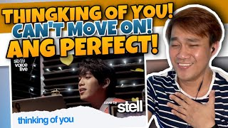 SB19 - STELL THINGKING OF YOU BY KATY PERRY | REACTION | AMAZING JANUS