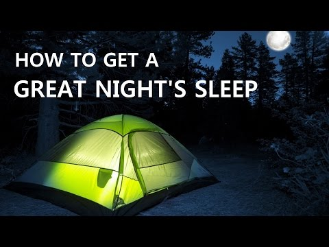 How To Sleep Better Outdoors