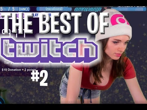 TOP TWITCH MOMENTS #2 ( SHE IS DRUNK ?!?!    )