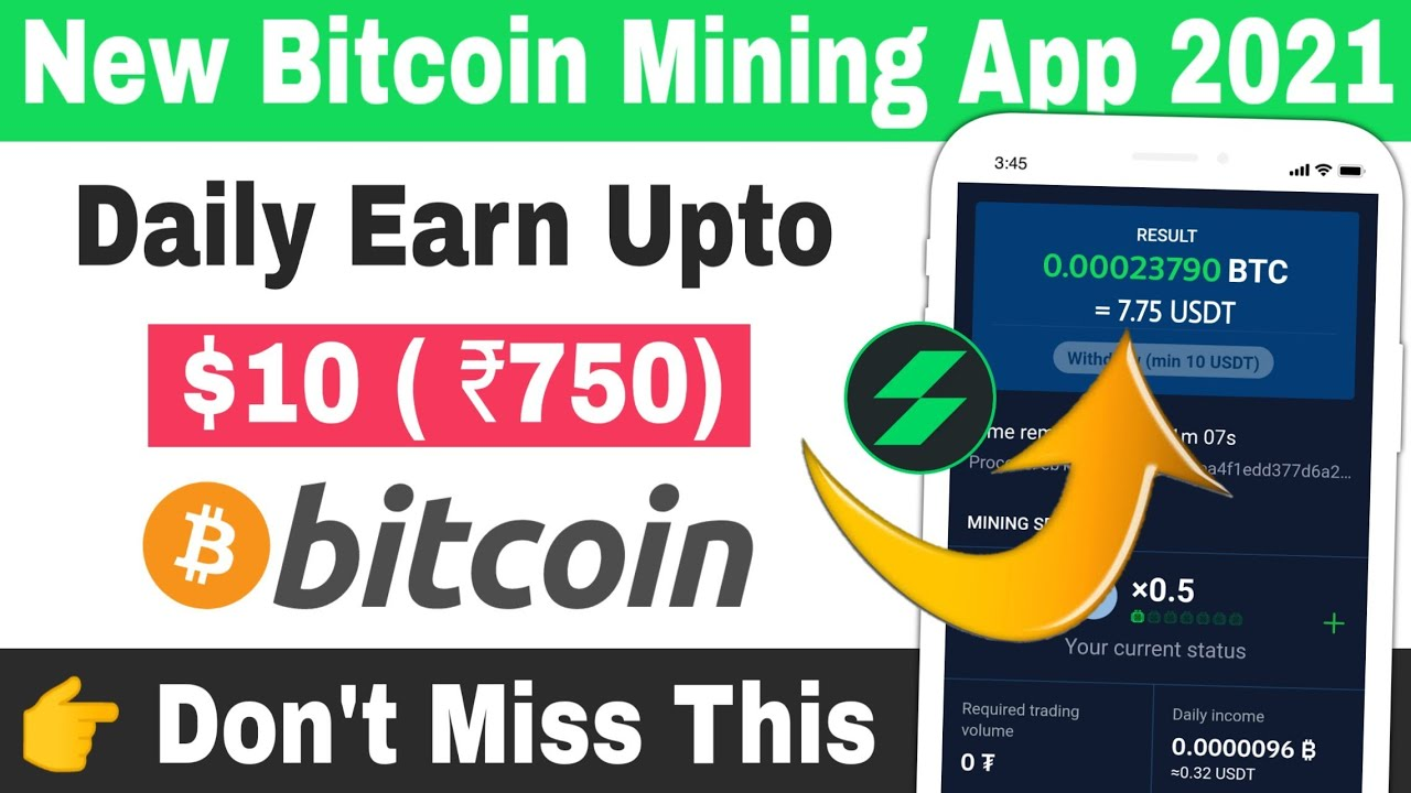 Neue Cryptocurcy Mining-Apps 2021