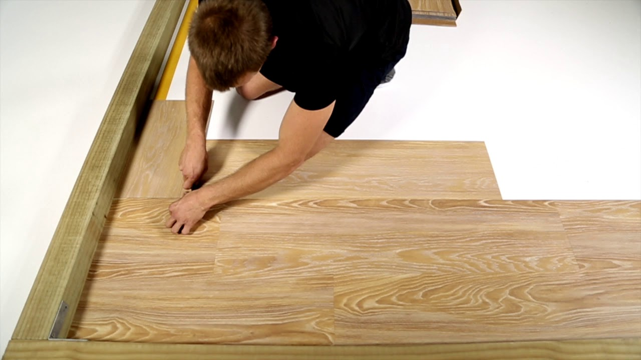 How To Cut Loose Lay Vinyl Planks 2