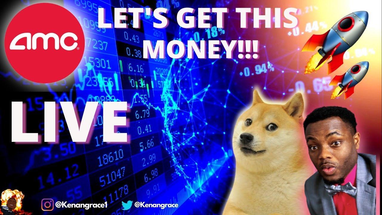 AMC STOCK LIVE - Stocks & Crypto to Buy NOW! 🚀 | Aug-4