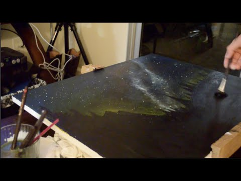 Starry Sky - Speed Painting